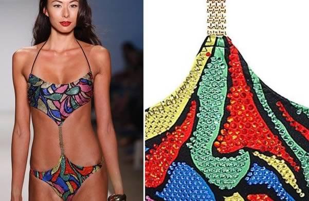 Những mẫu áo bơi độc-lạ cho bạn gái hè này