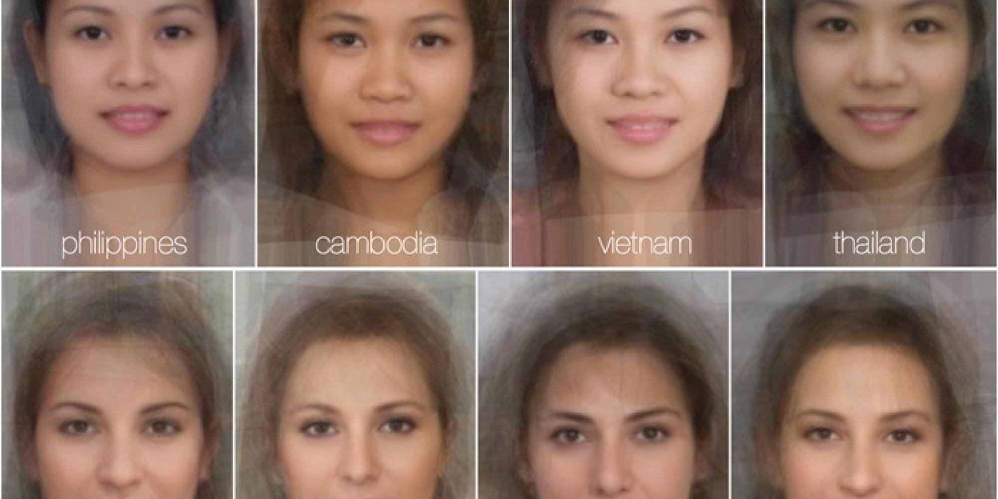 Đặc điểm gương mặt của đàn ông và phụ nữ hấp dẫn