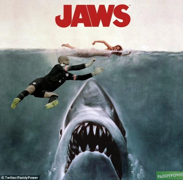 Cá mập cũng không thể cắn người
