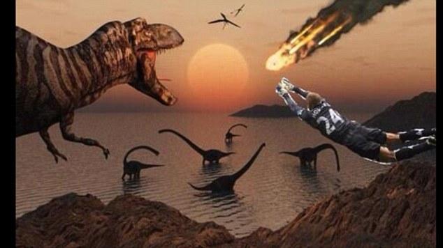 Khủng long sẽ không bị tuyệt chủng vì Howard đã ngăn chặn thiên thạch