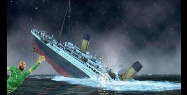 Thủ thành người Mỹ còn cứu được cả tàu Titanic