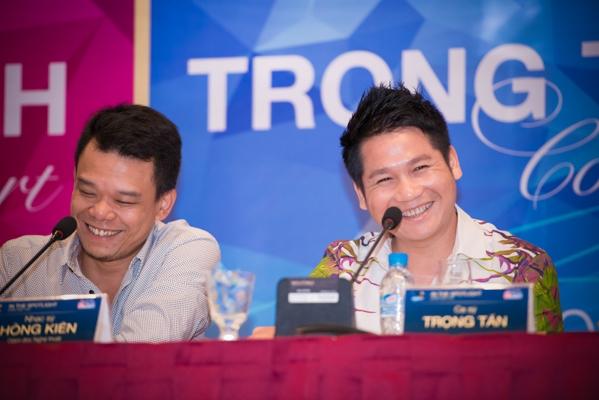 Concert của ca sỹ Trọng Tấn được tổ chức tiếp theo vào tháng 9 sẽ tạo ra những cảm xúc thăng hoa cho khán giả yêu mến giọng hát cao vút, nồng nàn củangôi sao hàng đầu dòng nhạc trữ tình cách mạng này.