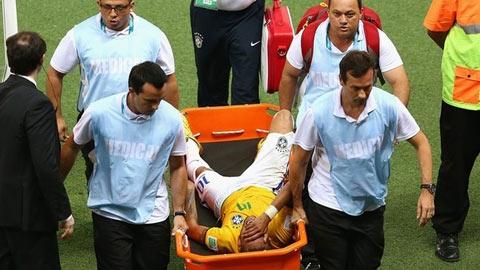 World Cup 2014 đã khép lại với Neymar?
