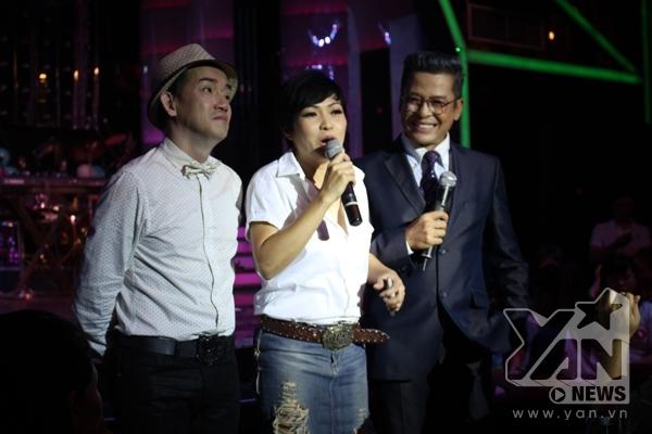 Phương Thanh bày tỏ sự ngưỡng mộ cũng như thán phục tài năng của Minh Thuận.