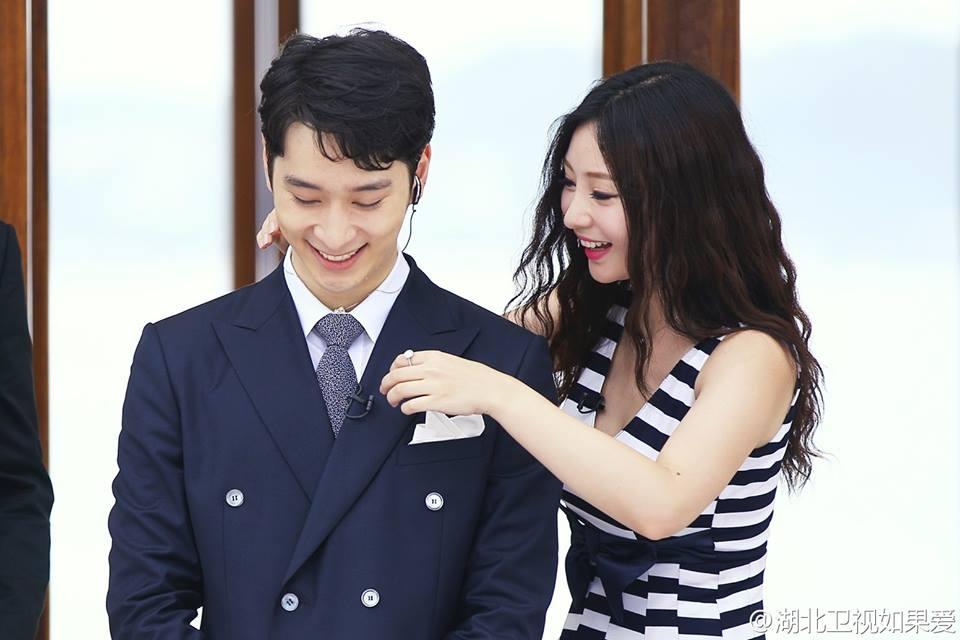 Chansung và Liễu Nham trong chương trình truyền hình Trung Quốc - If We Love