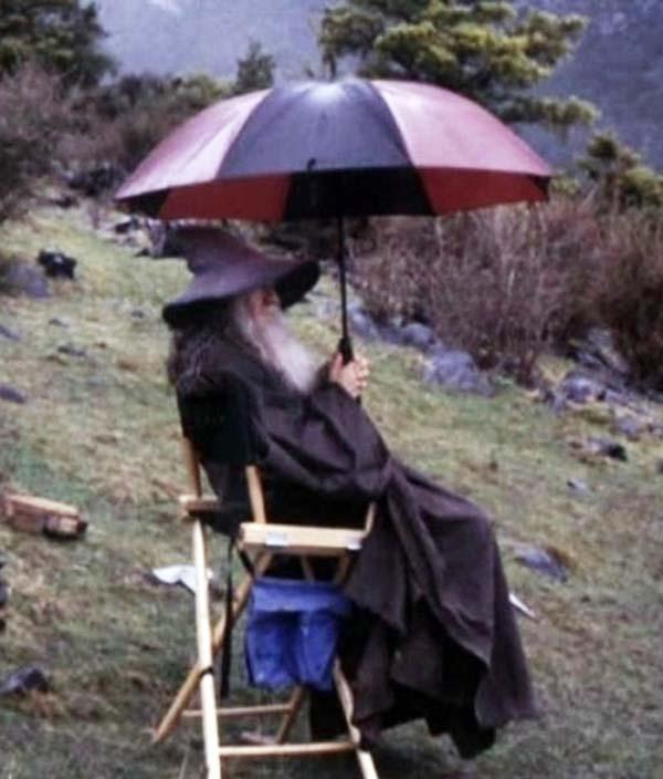 Không ai thích bị ướt cả, ngay cả phù thủy cũng vậy!