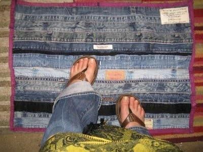"""""""Ngàn lẻ một cách"""" để tái chế một chiếc quần jeans cũ"""