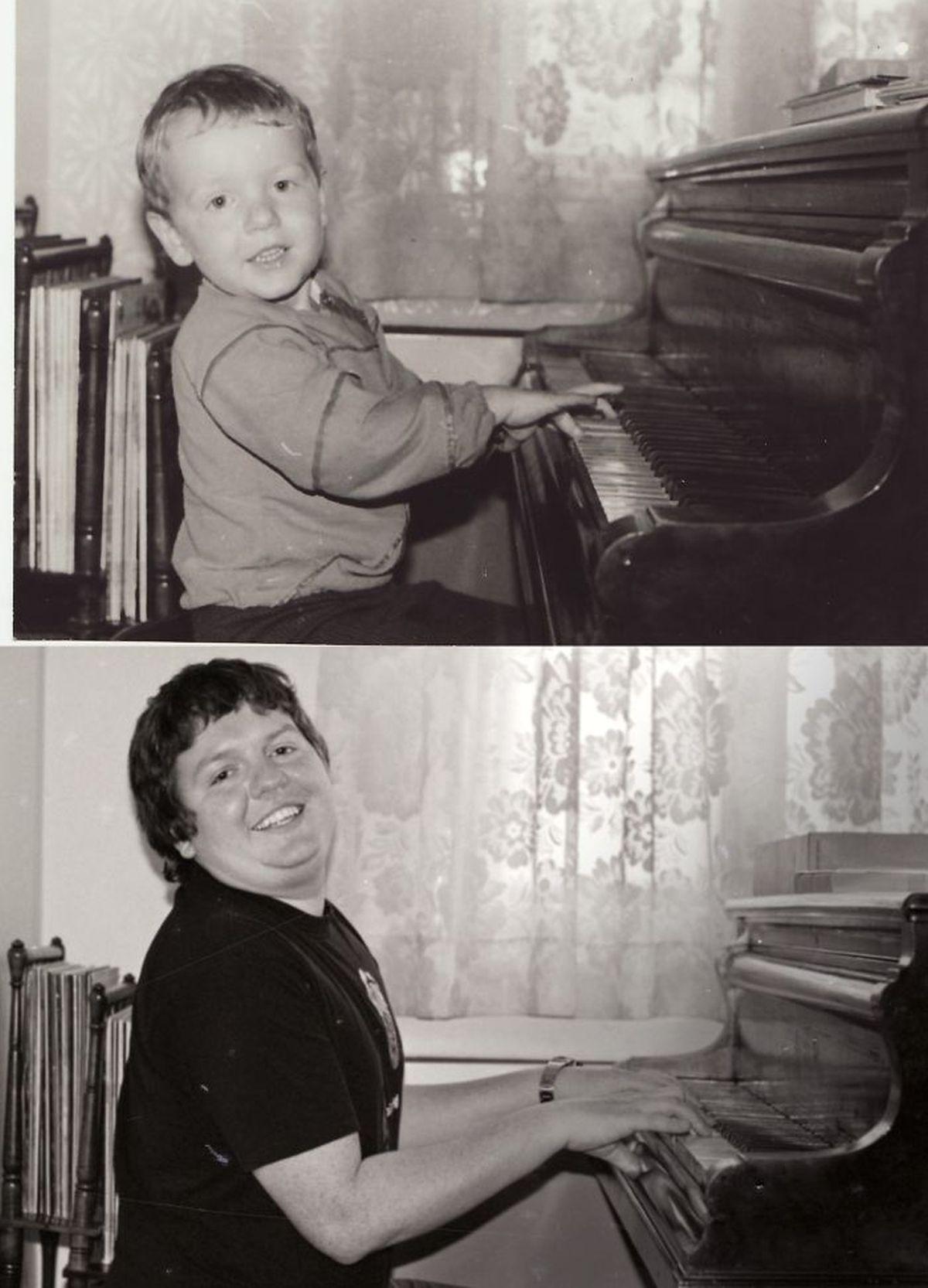 """Tình yêu âm nhạc vẫn cháy bỏng trong tim cậu bé, chỉ là cậu rất """"mau ăn chóng lớn"""""""