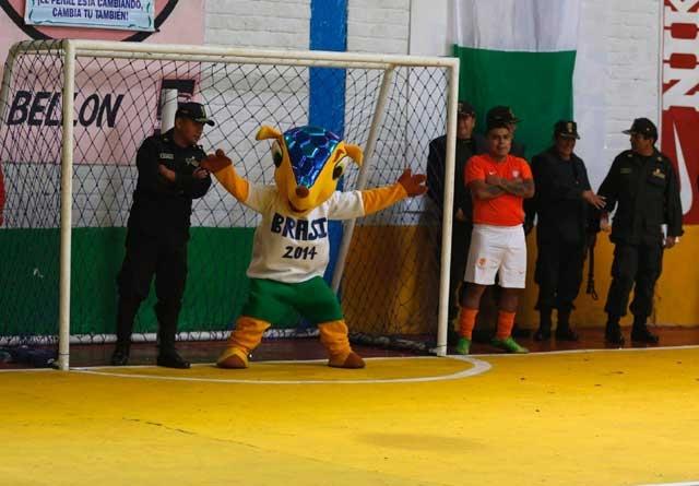 Giải cũng có linh vật như ở World Cup tại Brazil