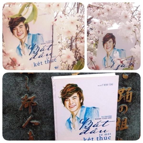 Một bạn fan đã thực hiện ước mơ được ngắm nhìn hoa anh đào tại đất nước Nhật Bản của Wanbi Tuấn Anh.