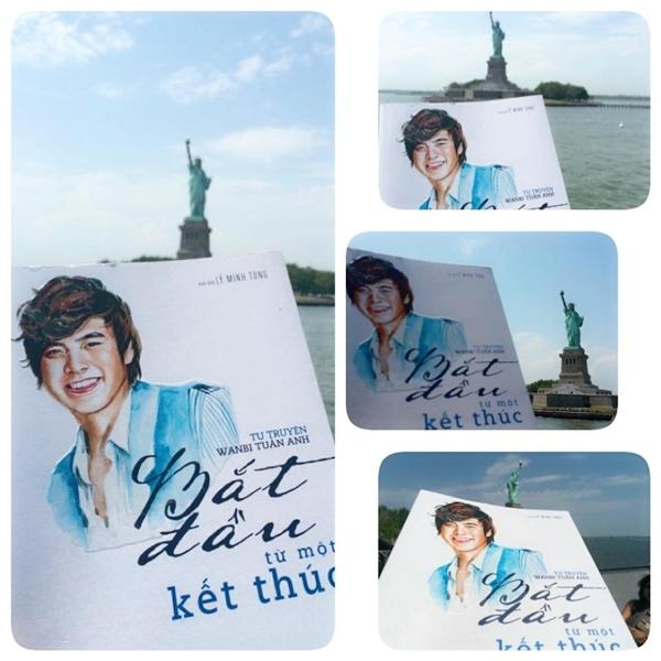 . Wani Tuấn Anh đã được đến thăm tượng Nữ thần Tự do ở Mỹ.  Quản lý của anh Wanbi Tuấn Anh - nhà báo Lý Minh Tùng đã giúp Wanbi có một chuyến du ngoạn tại Hồng Kông.