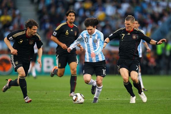 ĐT Đức sẽ lên phương án 'bắt chết' Messi ở trận chung kết sắp tới