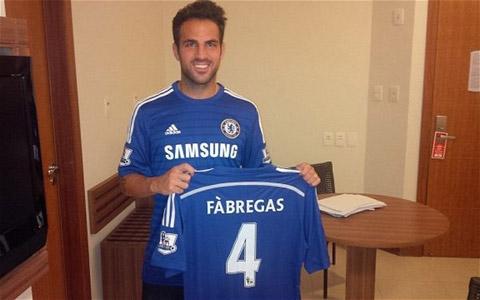 . Cesc Fabregas ra mắt trong màu áo Chelsea