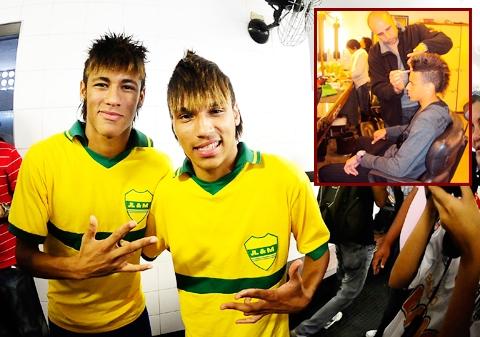 """Lucas trong một lần """"tút tát"""" cho giống Neymar để kiếm 1.700 USD/ngày"""