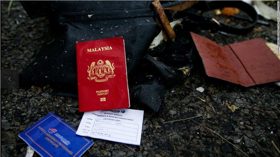 Hộ chiếu của một hành khách