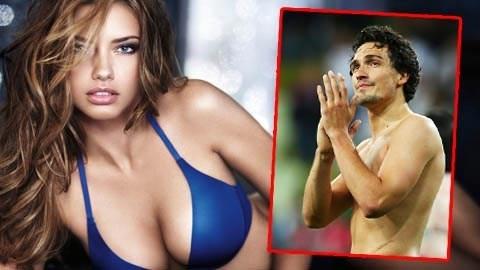 Mats Hummels bị nghi léng phéng với Adriana Lima