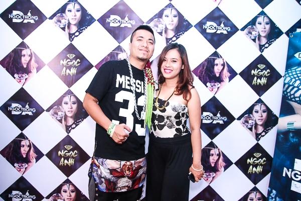 Ngọc Anh và DJ Wang