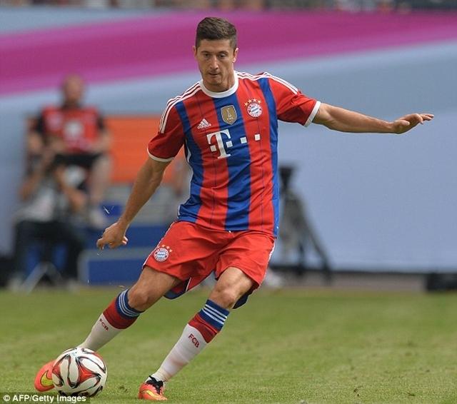 Lewandowski bắt đầu chương mới trong sự nghiệp tại Bayern Munich