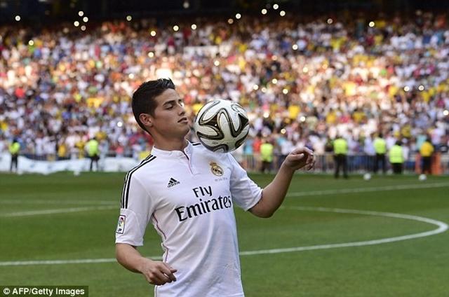 James Rodriguez thi đấu nổi bật tại World Cup 2014