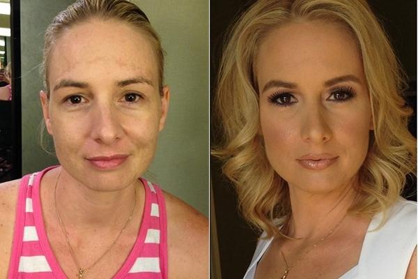 Trố mắt với những gương mặt trước và sau khi trang điểm