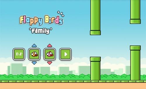 Game mới mang tên Flappy Birds Family.