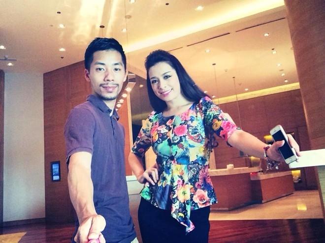 Cựu người mẫu Thúy Hạnh và nhiếp ảnh gia Jun đất
