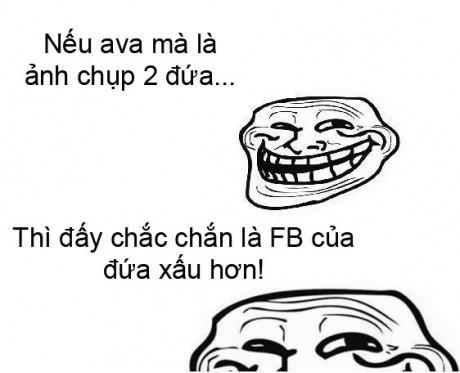 Những kiểu status thường gặp trên facebook