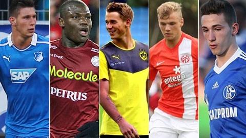 5 tài năng trẻ hứa hẹn nhất của bóng đá Đức
