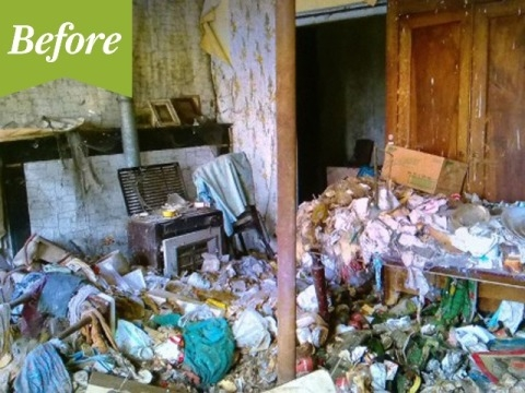 """Đến thăm căn hộ sang trọng từ là """"ổ rác"""""""