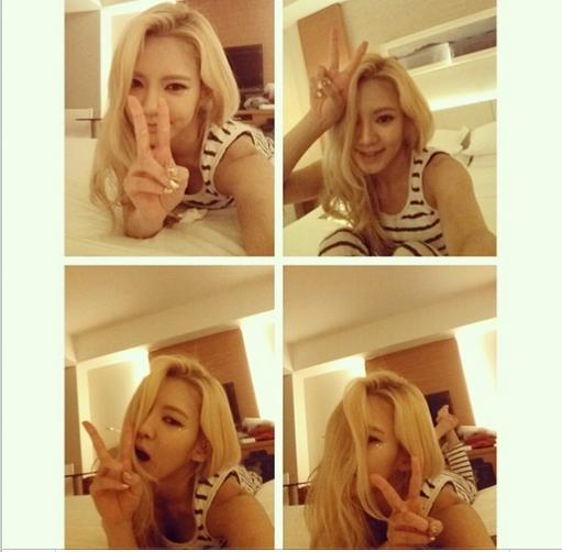 Hyoyeonkhoe hình tự sướng cực đáng yêu
