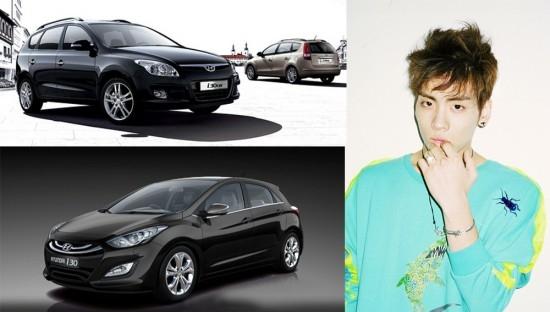Jonghyun sở hữu cho mình chiếc Hyundai màu đen nhẹ nhàng với giá 19-24 triệu won (tương đương 18-23.000 USD).