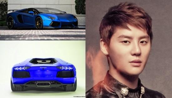 Ngoài Jaejoong, Junsu cũng sở hữu một sưu tập xe khiến người khác không khỏi ngưỡng mộ bao gồm Renault-Samsung SM7 với giá 35 triệu won (tương đương 34.000 USD), Mercedes-Benz SLS AMG với giá 154 triệu won (tương đương 149.000 USD), Rolls-Royce Ghost với giá 272 triệu won (tương đương 263.000 USD), Bentley Flying Spur với giá khoảng 207-300 triệu won, (tương đương 200-291.000 USD), Maserati GranTurismo với giá khoảng 250-300 triệu won (tương đương 242-291.000 USD), Ferrari 458 Italia với giá 370 triệu won (tương đương 359.000 USD), và một chiếc Lamborghini Aventador (giống G-Dragon).