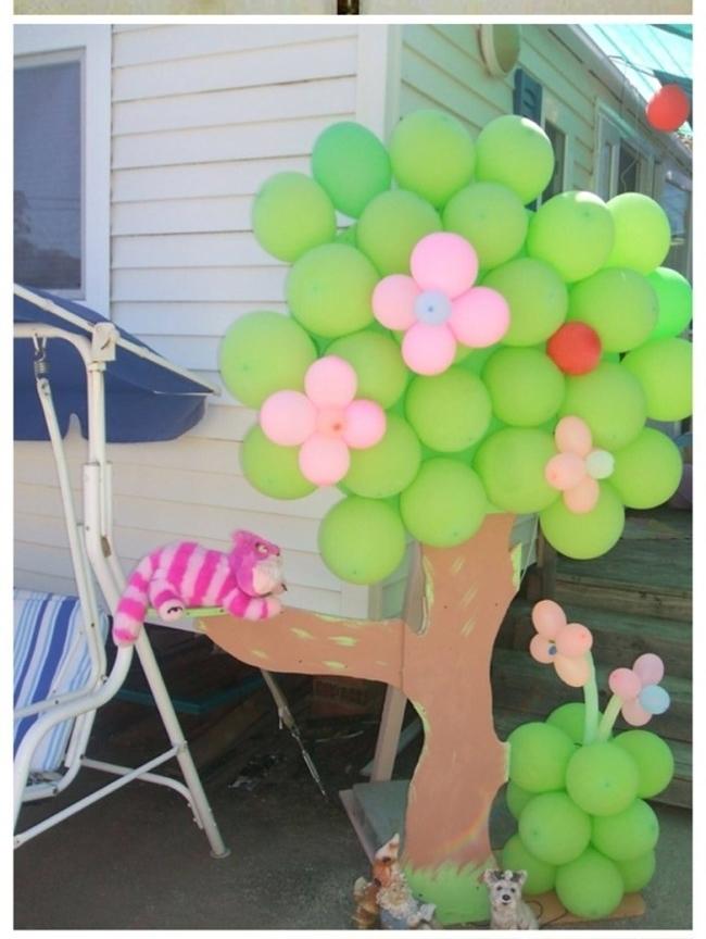 Biến hóa với những quả bong bóng đầy màu sắc