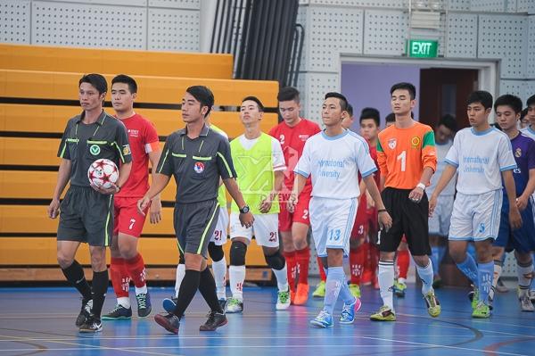 ĐH RMIT tưng bừng khai mạc giải bóng đá trong nhà mở rộng 2014
