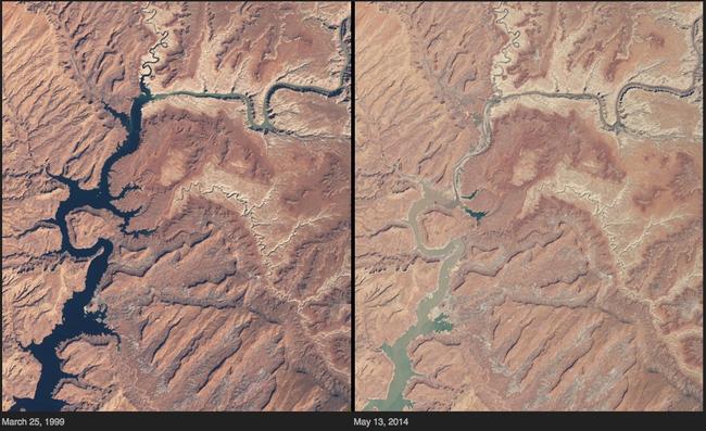 Những hình ảnh thực tế về biến đổi khí hậu khiến bạn phải suy nghĩ