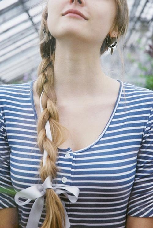 Biến hóa các kiểu tóc với ruy băng đáng yêu