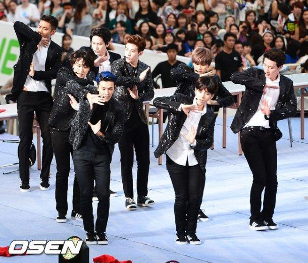 Super Junior - M với ca khúc Swing