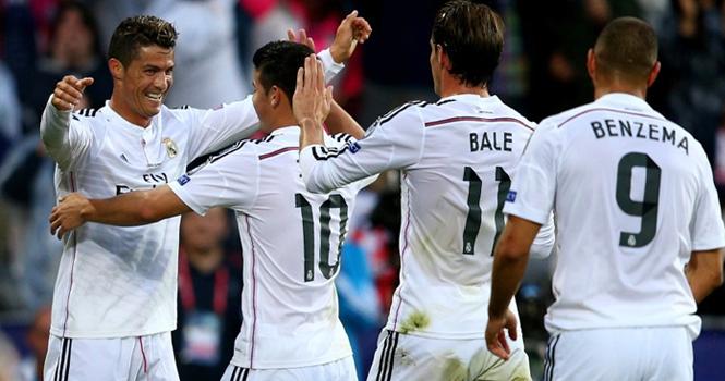 Ronaldo ghi cả 2 bàn giúp Real giành Siêu cúp châu Âu