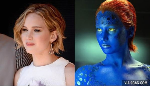 Jennifer Lawrence trong phim X-Men: Days of Future Past.