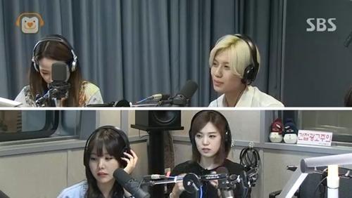 Taemin trong chương trình radio 19/8
