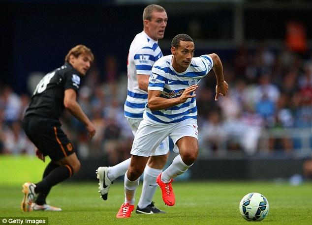 Ferdinand trong màu áo QPR