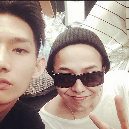 Người mẫu Park Hyeong Seopchúc mừng sinh nhật G-Dragon