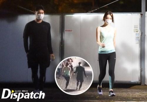 Một số hình ảnh hẹn hò gần đây của Sulli và Choiza đã bị Dispatch phát hiện