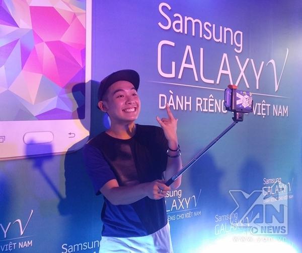 Hot Vlogger Phở cũng có mặt tham gia tại sự kiện tham gia ra mắt sản phẩm mới.