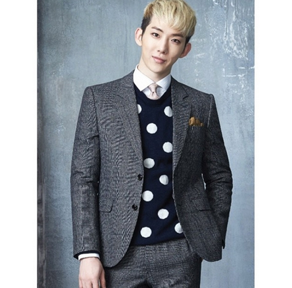 Jokwon bất ngợ diện trang phục vest cực lịch lãm trong bộ hình mới của 2AM