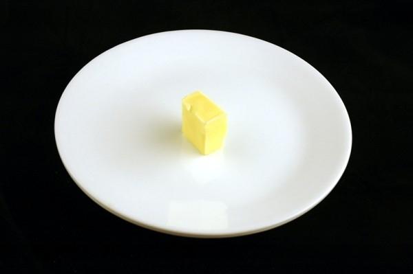 Một miếng bơ nhỏ chưa đầy 30g = 200 calo