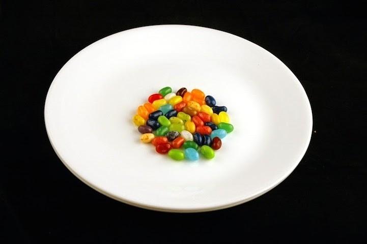 50 viên kẹo socola bọc đường = 200 calo