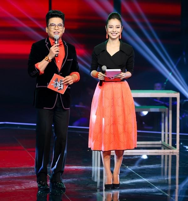 2 MC chính của chương trình: Thanh Bạch và Jennifer Phạm.