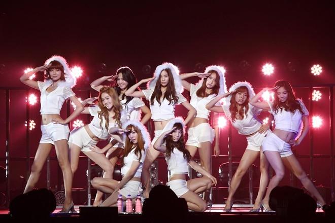 """Lần đầu tiên SNSD """"chào sân"""" với khán giả Nhật Bản vào ngày 25/8/2010"""
