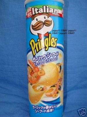 Những hương vị khoai tây ống kì lạ trên thế giới